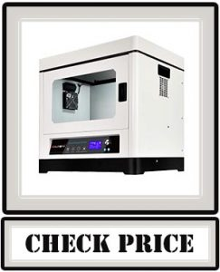 Large 3D Printer, JGAURORA 3D Printers A8 Extreme Accuracy Large Build Size 350x250x300mm