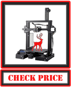 Creality Ender Pro 3D Printer with Magnetic Build Surface